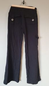 Bamboo Public Myth black soft workout pants